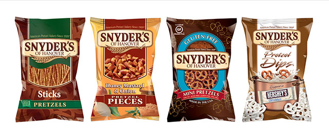 Snyder's of Hanover pretzels coupon