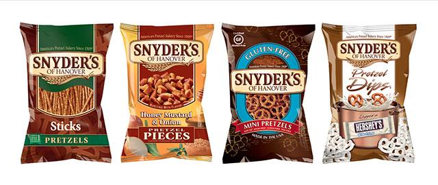 Snyder's of Hanover pretzels coupon