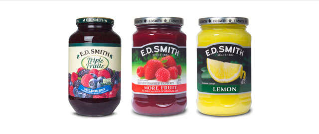 E.D. Smith jam coupon