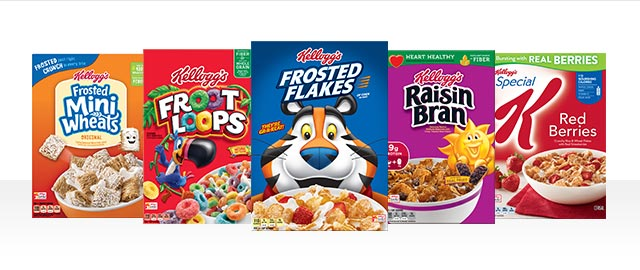 Buy 5: Kellogg's® Cereals coupon