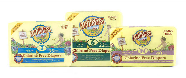 Earth's Best Chlorine Free Diapers coupon