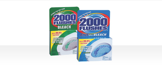 2000 Flushes® Automatic Toilet Bowl Cleaner coupon