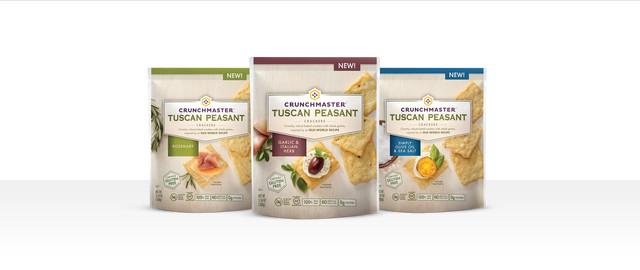 Crunchmaster® Tuscan Peasant crackers coupon