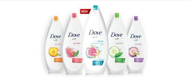 NEW Dove® go fresh® Restore Body Wash coupon