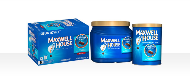 Maxwell House Coffee products coupon