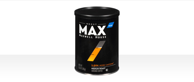 MAX by Maxwell House Boost coffee grounds  coupon
