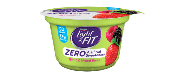 Light & Fit Greek Yogurt with Zero Artificial Sweeteners Single Serve Cups coupon