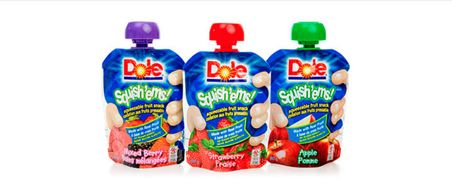 Dole Fruit Squish'ems coupon