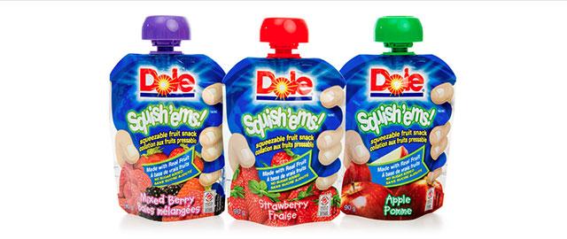 Dole Fruit Squish'ems coupon