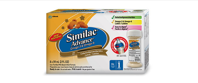 Similac Advance with Omega-3 & Omega-6 - Ready-to-use coupon