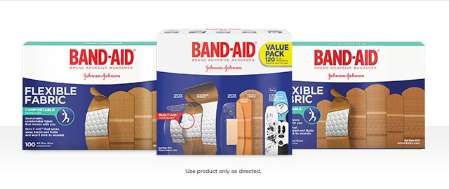 Select BAND-AID® Brand Adhesive Bandages coupon