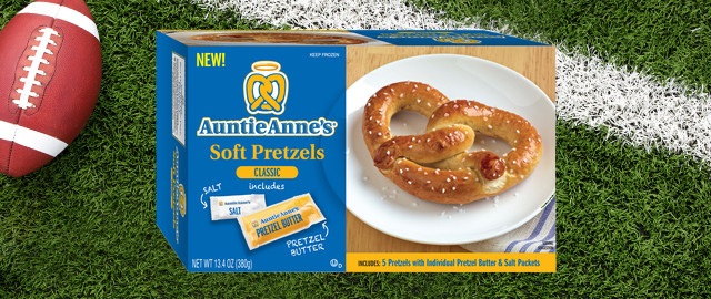 Auntie Anne's Frozen Pretzel coupon