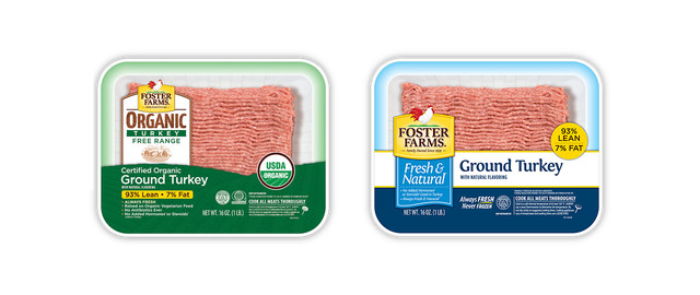 Foster Farms® Organic or Fresh & Natural Ground Turkey coupon