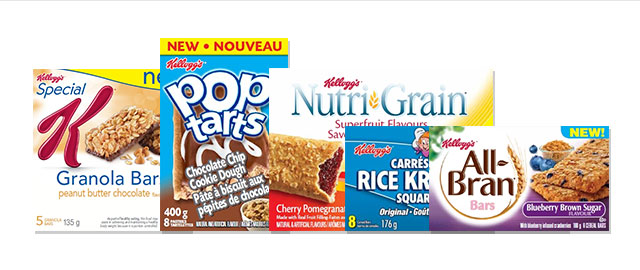 Buy Any 4: Kellogg's* Snacks coupon