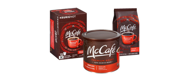 McCafé® Ground Coffee or Premium Roast Coffee K-Cup Pods coupon