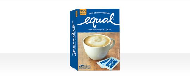 Equal Zero Calorie Sweetener 250 ct coupon