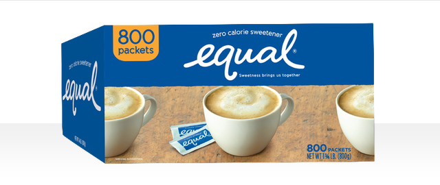 Equal Zero Calorie Sweetener 800 ct coupon