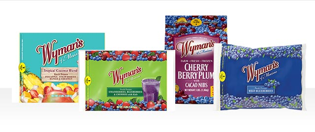 Wyman's of Maine Frozen Fruit coupon