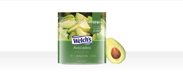 Welch's Ripe Frozen Avocados 32 oz coupon