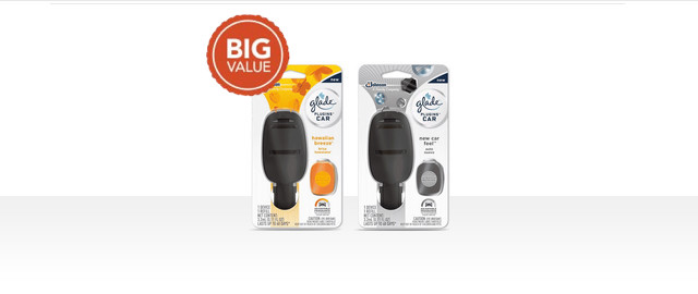 Glade® PlugIns® Car Starter Kit coupon