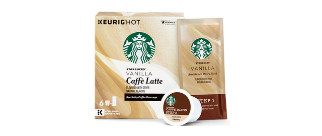 Starbucks® Vanilla Flavored Caffè Latte K-Cup® Pods coupon