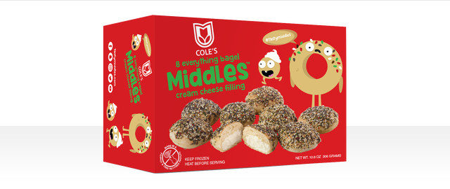 Cole's Everything Bagel Middles™ with Cream Cheese Filling coupon