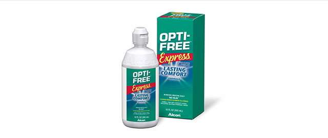Opti-Free contact lens solution coupon