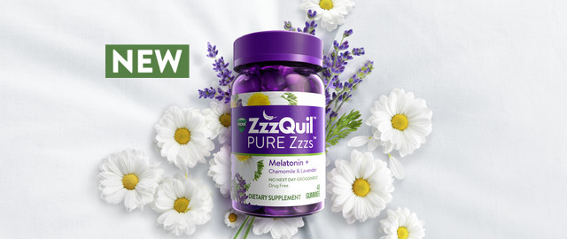 Vicks® ZzzQuil™ PURE Zzzs™ Melatonin Gummies coupon