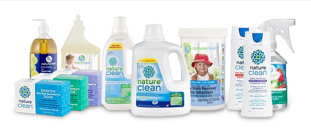 Nature Clean household cleaning products coupon