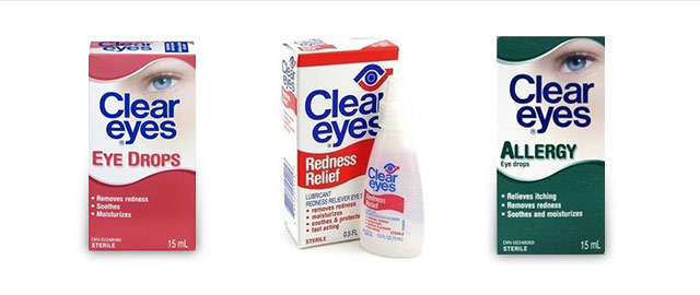 Clear Eyes gels and eye drops coupon