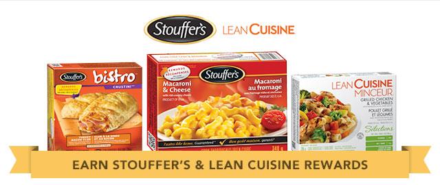 Lean Cuisine® Selections, Stouffer's® Single Serve Entrées & Stouffer's® Bistro™ coupon