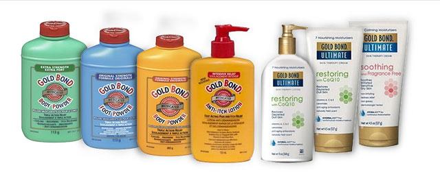 Gold Bond skin care coupon