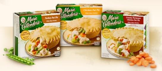 Marie Callender's Frozen Dinner Entrees coupon