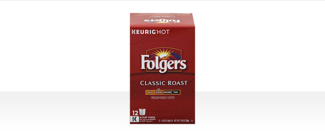 Folgers K-Cup® Pods coupon