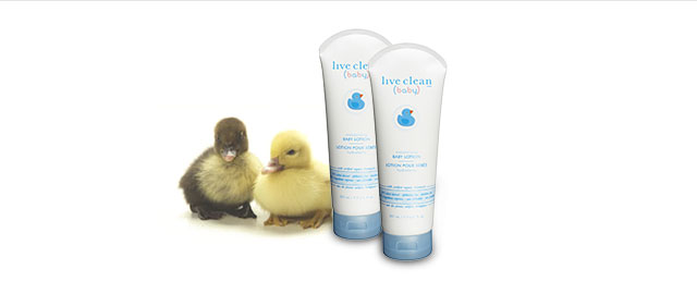 Live Clean baby lotion coupon