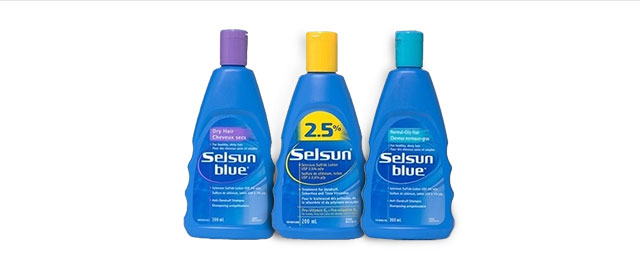 Selsun Blue shampoo coupon