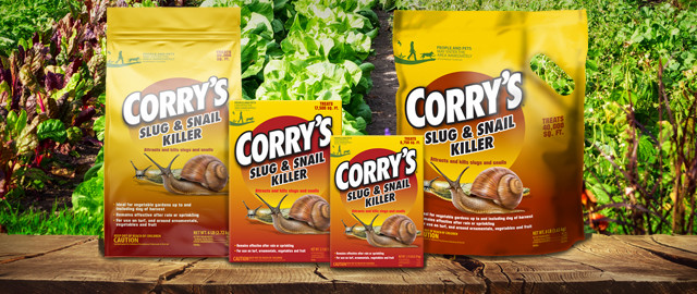 Corry's® Slug & Snail Killer Ready-to-Use Pellets coupon