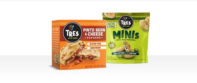 Tres Latin Foods Pupusas  coupon