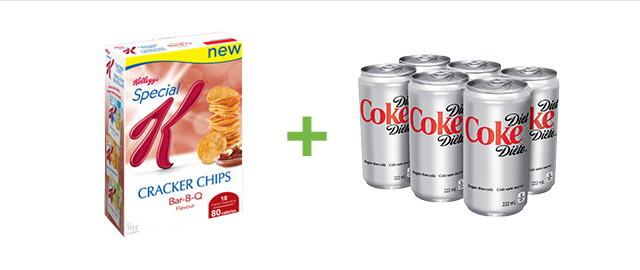 Buy Special K* Cracker Chips and Diet Coke® coupon