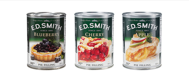 E.D Smith pie filling coupon