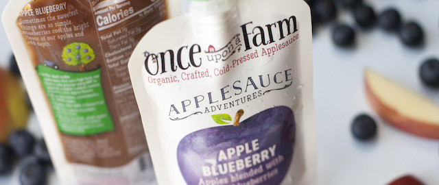 Once Upon A Farm Organic Cold-Pressed Applesauce Single Pouch coupon