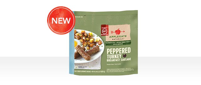 Applegate Naturals® Peppered Turkey Breakfast Sausage coupon