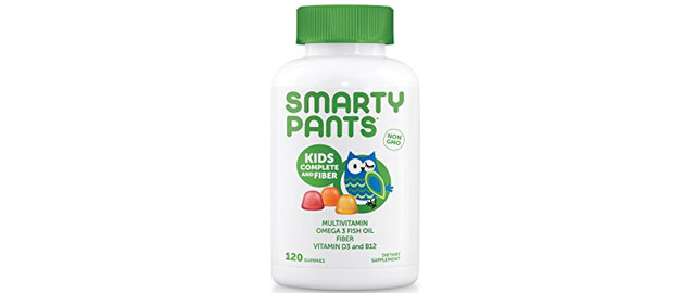 SmartyPants Kids Complete and Fiber Gummy Vitamins coupon