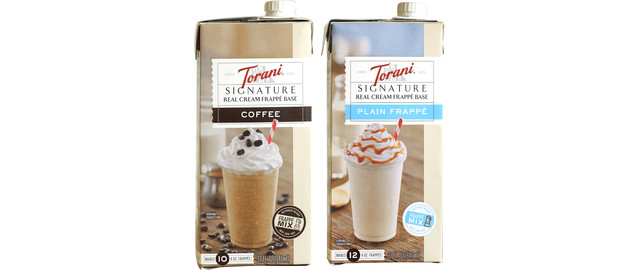 Torani Real Cream Frappe  coupon