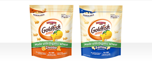 Goldfish Crackers Made with Organic Wheat coupon
