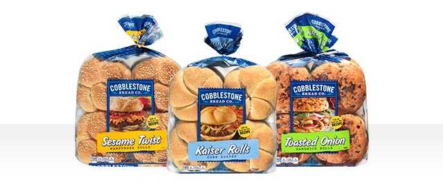 Select Cobblestone Bread Company® Bread and Buns coupon