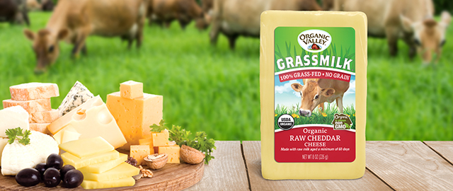 Organic Valley® Grassmilk® Cheddar Cheese coupon