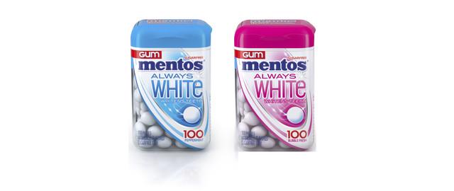 Mentos™ Always White Whitening Gum coupon