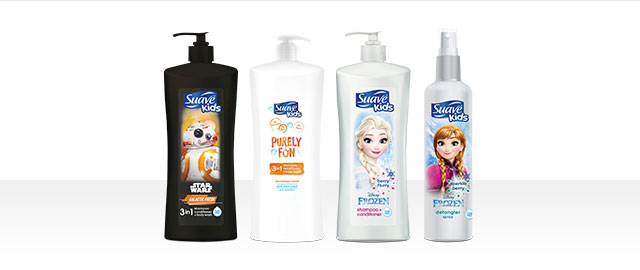 Suave Kids® Disney or PURELY FUN Hair or Bath Products coupon