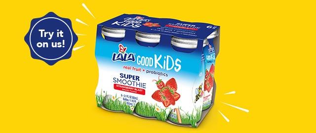LALA® Good Kids™ Super Smoothie 6-pack coupon